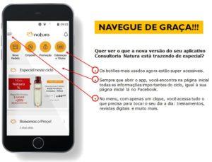 como acessar app natura