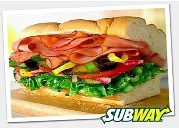 franquia subway produtos
