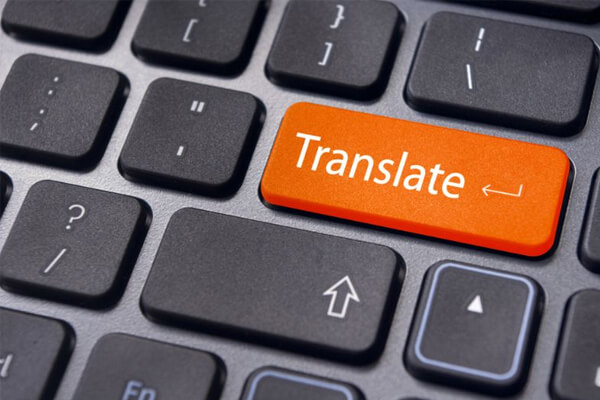 trabalhar com tradução