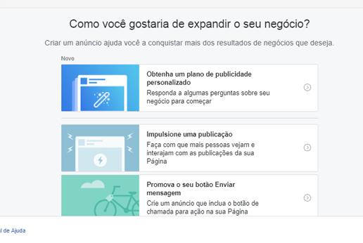 como criar anuncio facebook ads