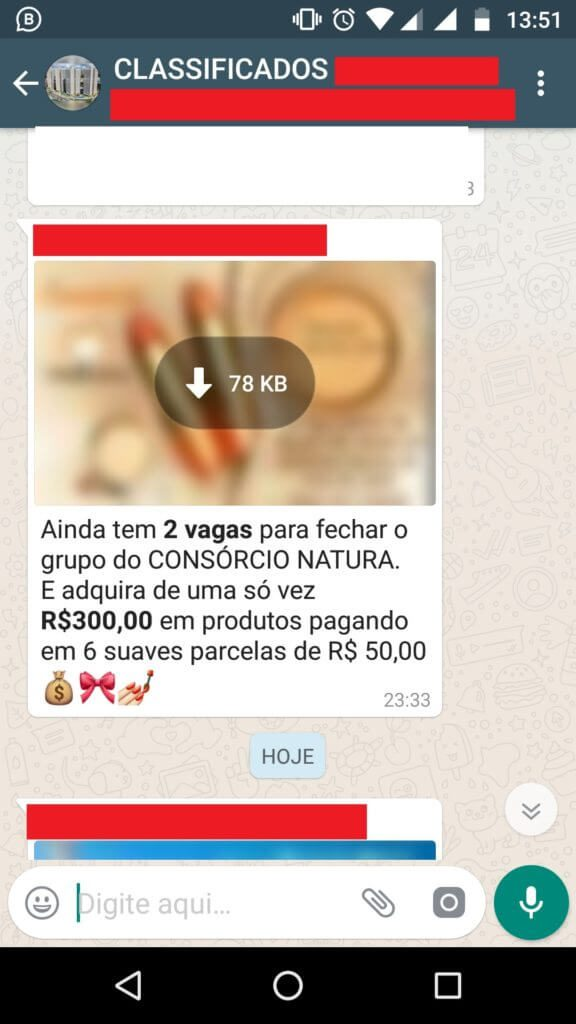 vendendo pelo whatsapp