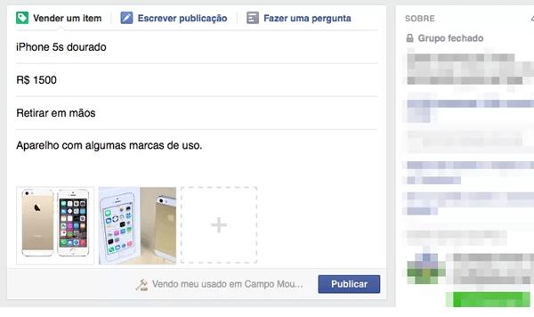 grupo do facebook como criar anuncio