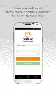 Como fazer pedido no aplicativo Natura
