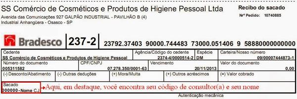 código consultor jequiti