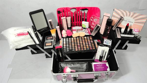 maleta de maquiagem profissional mary kay