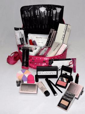 maleta de maquiagem basica mary kay