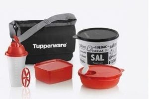kit inicial tupperware itens