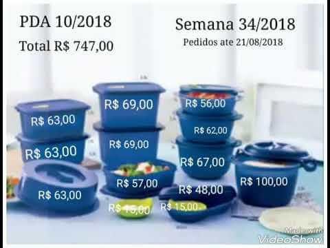 preço bea tupperware