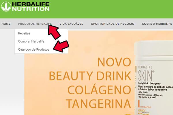 catálogo online herbalife
