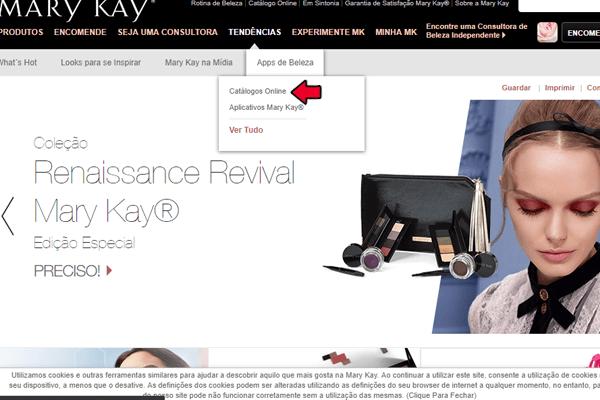 catálogo online mary kay