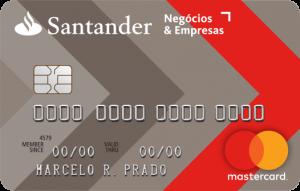 Cartão Santander Empresas e Negócios