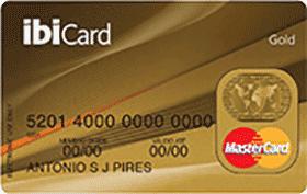Cartão Ibi Gold