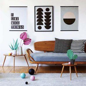 Móveis e artigos decorativos