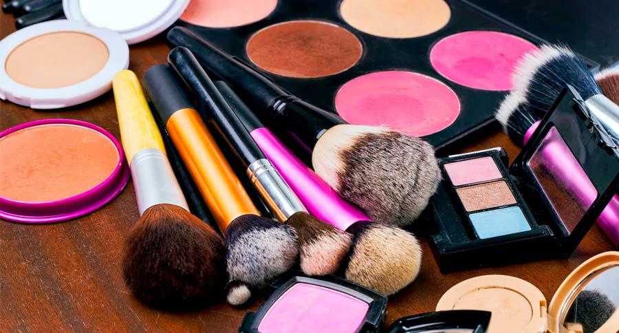 produtos de maquiagem
