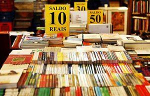 livros em sebo
