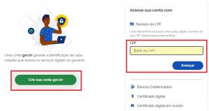 login gov.br